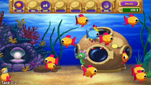 Hình ảnh game insaniquarium 2 in Tải game pocket aquarium iOs free Apk