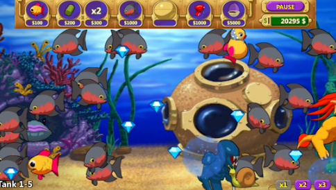 Hình ảnh game insaniquarium 3 in Tải game pocket aquarium iOs free Apk